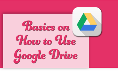 Basics on How to Use Google Drive for your Small Business